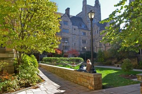 Saybrook College Courtyard