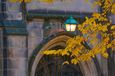 Archway and Lamp