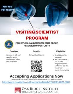 FBI CIRG VSP Program Flyer