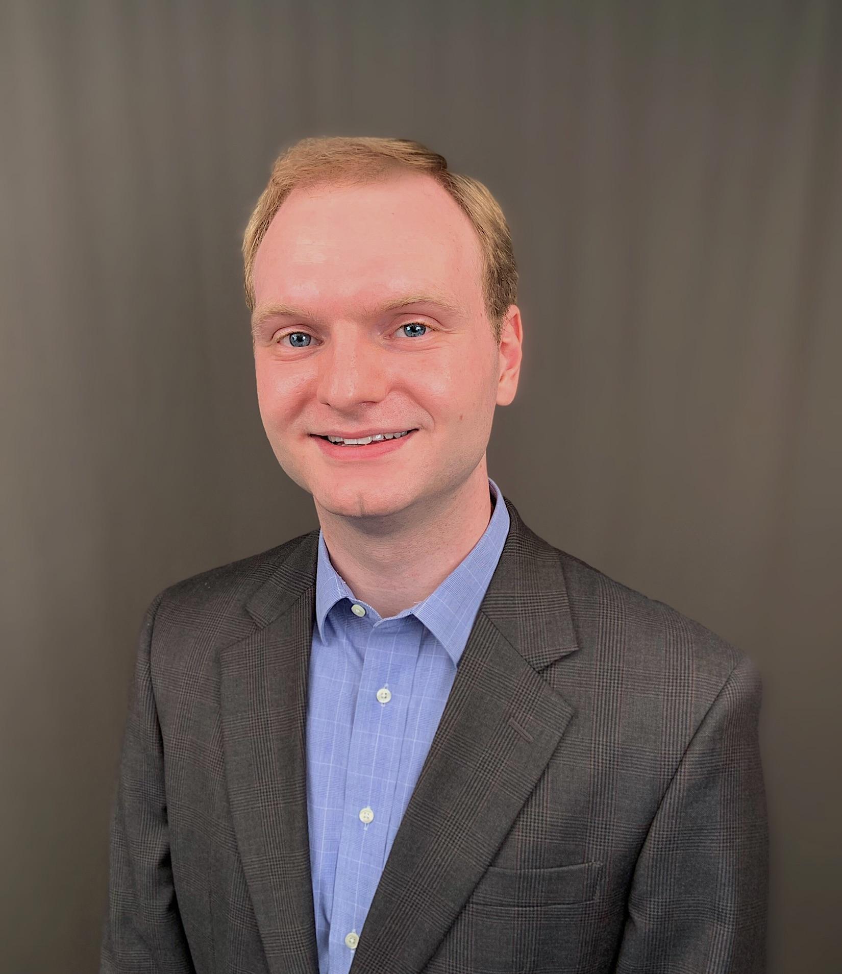 Jake Heinlein (PhD, Chemical and Environmental Engineering)